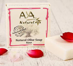 Natural Olive Soap - Rose